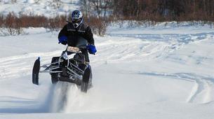 Snowmobile-Hardangervidda National Park-Snowmobile circuits in Dagali, Geilo-3