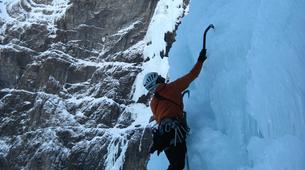 Ice Climbing-Bielsa-Icefall climbing in Bielsa, Aragonese Pyrenees-4