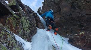 Ice Climbing-Bielsa-Icefall climbing in Northern Bielsa, Spanish Pyrenees-4