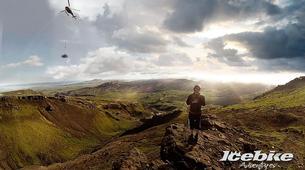 Mountain bike-Reykjavik-Heli-biking down Hengill Volcano, Reykjavik-4