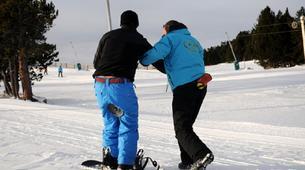 Snowboard Freestyle-Les Angles-Demi-journée Cours Privé de Snowboard Freestyle aux Angles-6