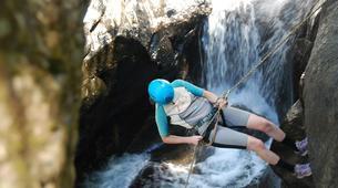 Canyoning-Cantabria-Canyoning at Yera Gorge in Vega de Pas, Cantabria-5