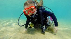 Scuba Diving-Puerto del Carmen, Lanzarote-First scuba dive in Playa Chica, Puerto del Carmen-4