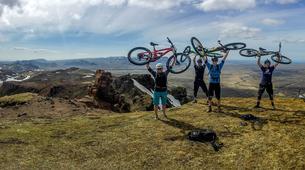 Mountain bike-Reykjavik-Heli-biking down Hengill Volcano, Reykjavik-7