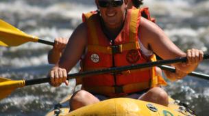 Kayaking-Livingstone-Canoe safari on the Upper Zambezi River near Livingstone-3