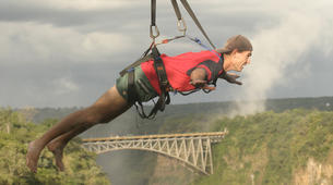 Bungee Jumping-Victoria Falls-Hire wire combo in Victoria Falls-1