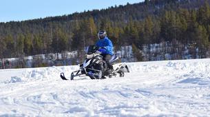 Snowmobile-Hardangervidda National Park-Snowmobile circuits in Dagali, Geilo-4