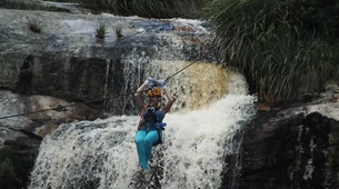 Zip-Lining-Plettenberg Bay-Waterfall zipline tour over the Kruis River-2