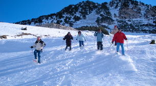 Snowshoeing-Bielsa-6-day Snowshoeing Expedition near Bielsa in the Aragonese Pyrenees-3