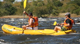 Kayaking-Victoria Falls-Full day canoeing excursion on the Upper Zambezi-5