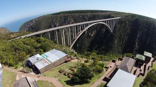 Bungee Jumping-Plettenberg Bay-Africa's highest bridge bungee, 216m from Bloukrans Bridge-7