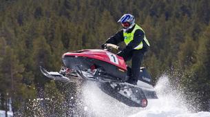 Snowmobile-Hardangervidda National Park-Snowmobile circuits in Dagali, Geilo-1