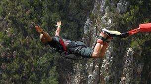 Bungee Jumping-Plettenberg Bay-Africa's highest bridge bungee, 216m from Bloukrans Bridge-6