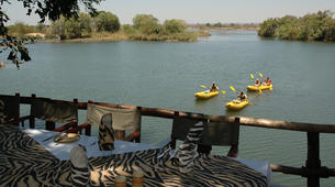 Kayaking-Livingstone-Canoe safari on the Upper Zambezi River near Livingstone-4