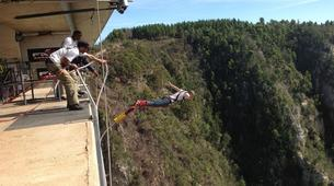 Bungee Jumping-Plettenberg Bay-Africa's highest bridge bungee, 216m from Bloukrans Bridge-4