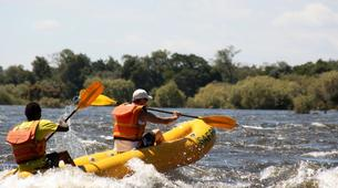 Canoë-kayak-Victoria Falls-Half day canoeing excursion on the Upper Zambezi-4