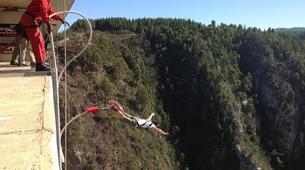 Bungee Jumping-Plettenberg Bay-Africa's highest bridge bungee, 216m from Bloukrans Bridge-5