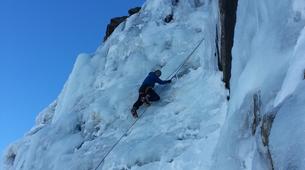 Ice Climbing-Bielsa-Icefall climbing in Northern Bielsa, Spanish Pyrenees-5