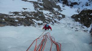 Ice Climbing-Bielsa-Icefall climbing in Bielsa, Aragonese Pyrenees-5