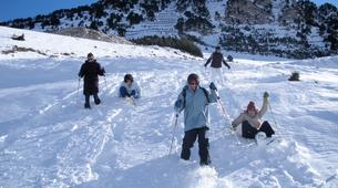 Snowshoeing-Bielsa-6-day Snowshoeing Expedition near Bielsa in the Aragonese Pyrenees-1