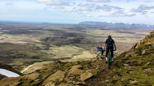 Mountain bike-Reykjavik-Heli-biking down Hengill Volcano, Reykjavik-5