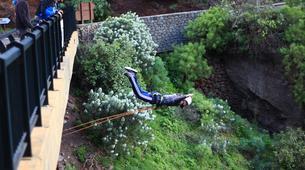 Bungee Jumping-Las Palmas de Gran Canaria-Rope swinging from 26 metres at La Calzada Bridge near Las Palmas-1