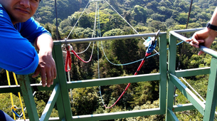 Bungee Jumping-Monteverde-Tarzan jump from 143 metres in Monteverde-4
