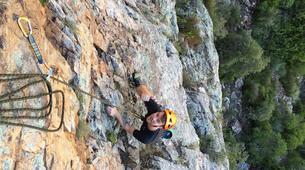 Rock climbing-Langeberg-Rock climbing lessons in Montagu, Langeberg-9