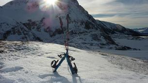 Snowshoeing-Alpe d'Huez Grand Domaine-Snowshoe hike around the Lacs des Grandes Rousses in Alpe d'Huez-1