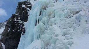 Ice Climbing-Bielsa-Icefall climbing in Northern Bielsa, Spanish Pyrenees-2