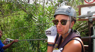 Zip-Lining-Plettenberg Bay-Waterfall zipline tour over the Kruis River-4
