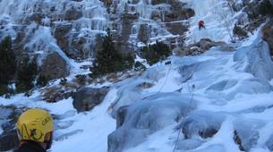 Ice Climbing-Bielsa-Icefall climbing in Bielsa, Aragonese Pyrenees-3