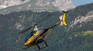 Helicoptère-Annecy-Baptême Hélicoptère au-dessus du Lac d'Annecy-6