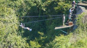 Bungee Jumping-Victoria Falls-Hire wire combo in Victoria Falls-2