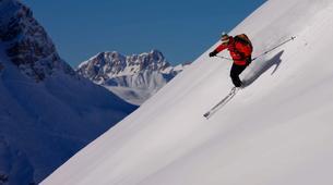 Ski Hors-piste-Val d'Isère, Espace Killy-Ski Hors-piste à Val d'isère, Espace Killy-2