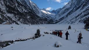 Snowshoeing-Cauterets-Snowshoeing hike near the Gaube Lake-6