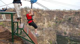 Bungee Jumping-Victoria Falls-Hire wire combo in Victoria Falls-6