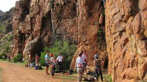 Rock climbing-Langeberg-Rock climbing lessons in Montagu, Langeberg-5