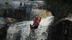 Zip-Lining-Plettenberg Bay-Waterfall zipline tour over the Kruis River-1