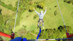 Bungee Jumping-Monteverde-Bungee jumping from 143 metres in Monteverde-6