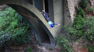 Bungee Jumping-Las Palmas de Gran Canaria-Rope swinging from 26 metres at La Calzada Bridge near Las Palmas-2