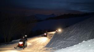 Snowmobiling-Le Corbier, Les Sybelles-Snowmobile excursion in Le Corbier, Les Sybelles-2