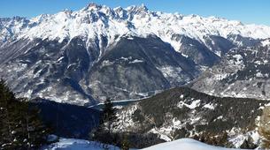 Snowshoeing-Alpe d'Huez Grand Domaine-Snowshoe hike around the Lacs des Grandes Rousses in Alpe d'Huez-2