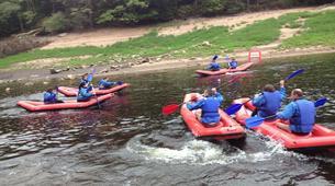 Rafting-Morvan-Descente Canoraft sur la Cure et le Chalaux dans le Morvan-4