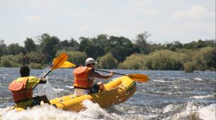Kayaking-Victoria Falls-Full day canoeing excursion on the Upper Zambezi-1
