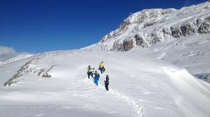 Snowshoeing-Alpe d'Huez Grand Domaine-Snowshoe hike around the Lacs des Grandes Rousses in Alpe d'Huez-4