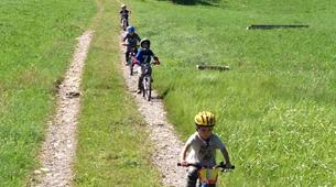 Mountain bike-Megève, Evasion Mont Blanc-Cours de VTT à Megève-2