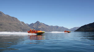 Jet Boat-Queenstown-Jet boating on the Kawarau River, Queenstown-4