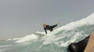Surfing-Caleta de Famara, Lanzarote-Beginner surfing course in Caleta de Famara, Lanzarote-9