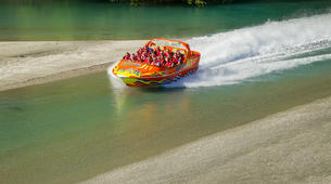 Jet Boat-Queenstown-Jet boating on the Kawarau River, Queenstown-5